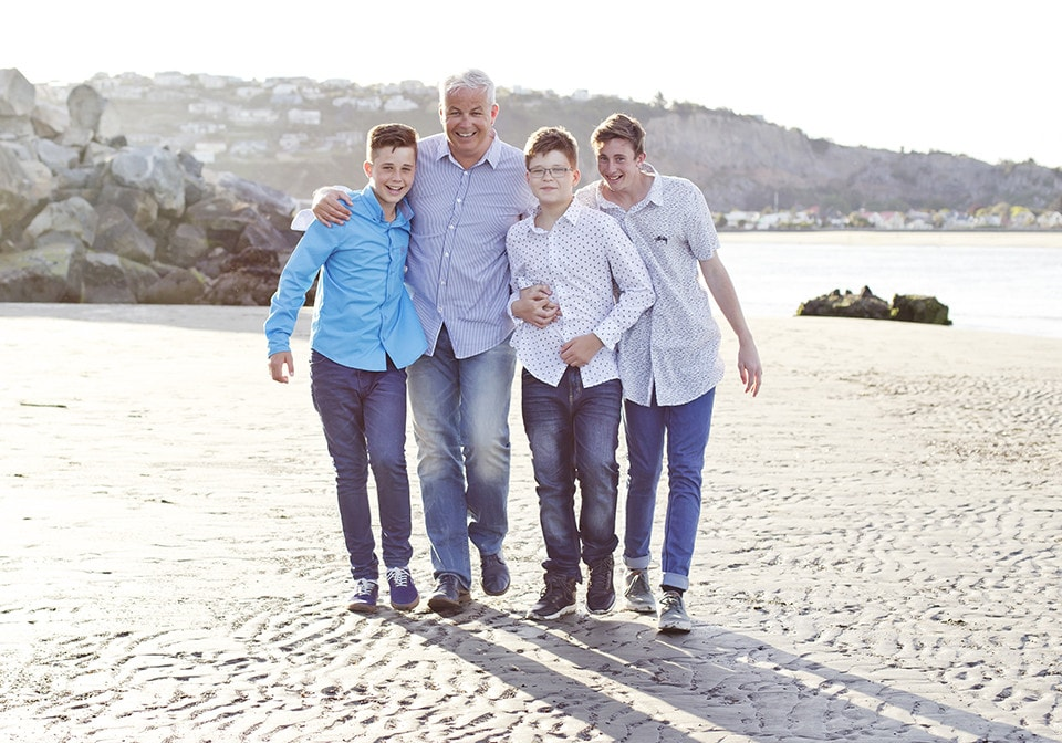 Family Portraits Christchurch, Etta Images; Beach photographs Christchurch