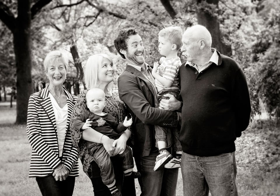 3 Generations, Hagley Park, Christchurch; Family Portraits Christchurch; Christchurch Photographer