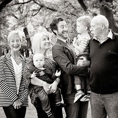 3 Generations, Hagley Park, Christchurch