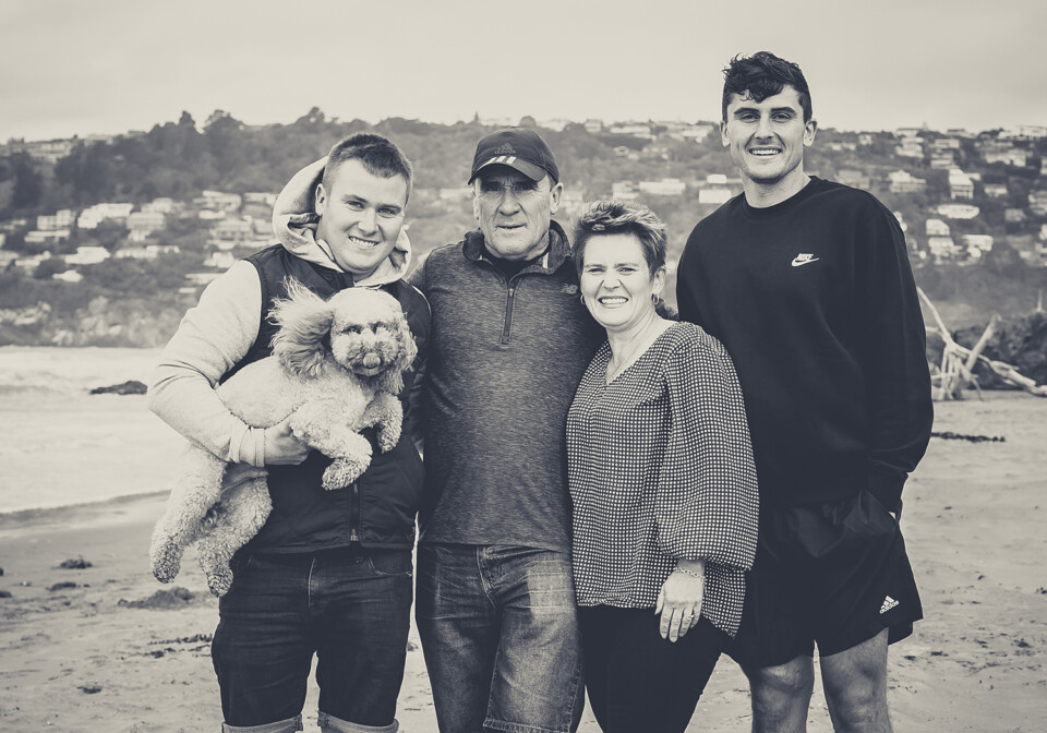 Family Portraits Christchurch, Etta Images, Love and pets fundraiser for Gumboot Friday